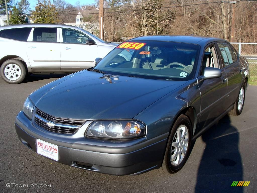 2005 medium gray metallic chevrolet impala 2194946. Black Bedroom Furniture Sets. Home Design Ideas