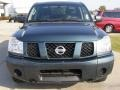 2007 Deep Water Blue/Green Nissan Titan XE Crew Cab 4x4  photo #8