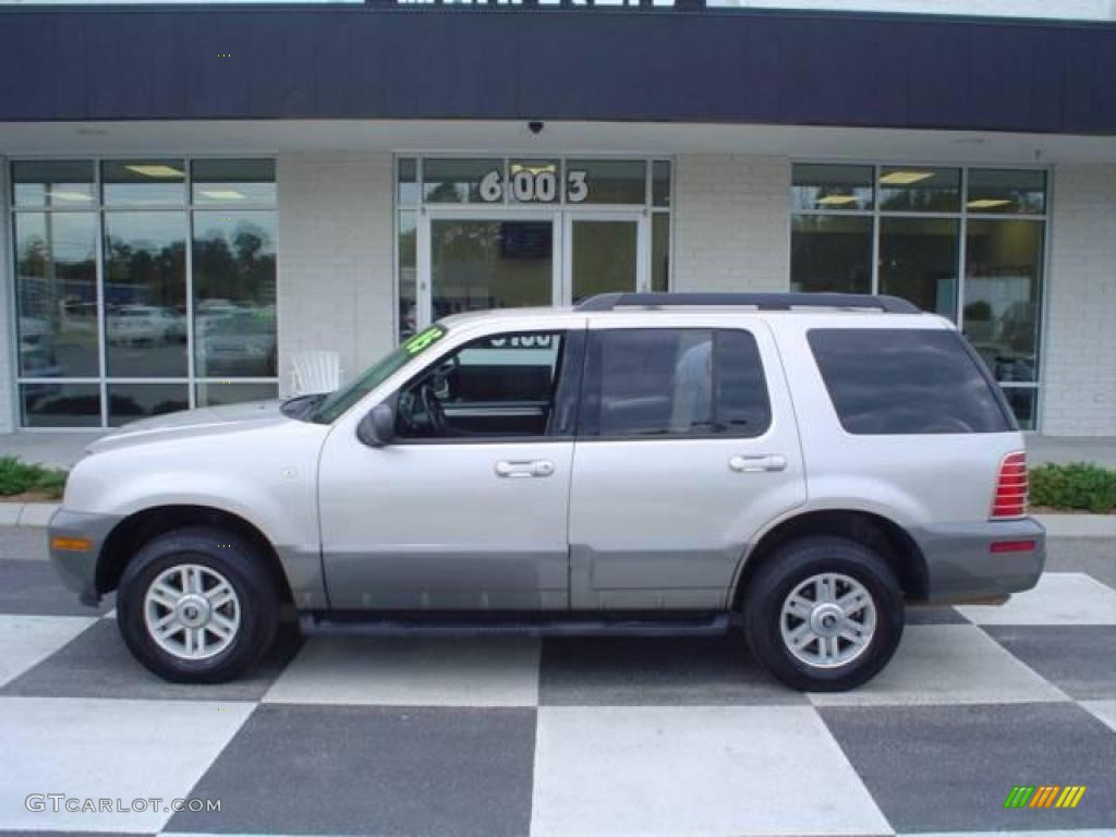 Silver birch metallic mercury mountaineer