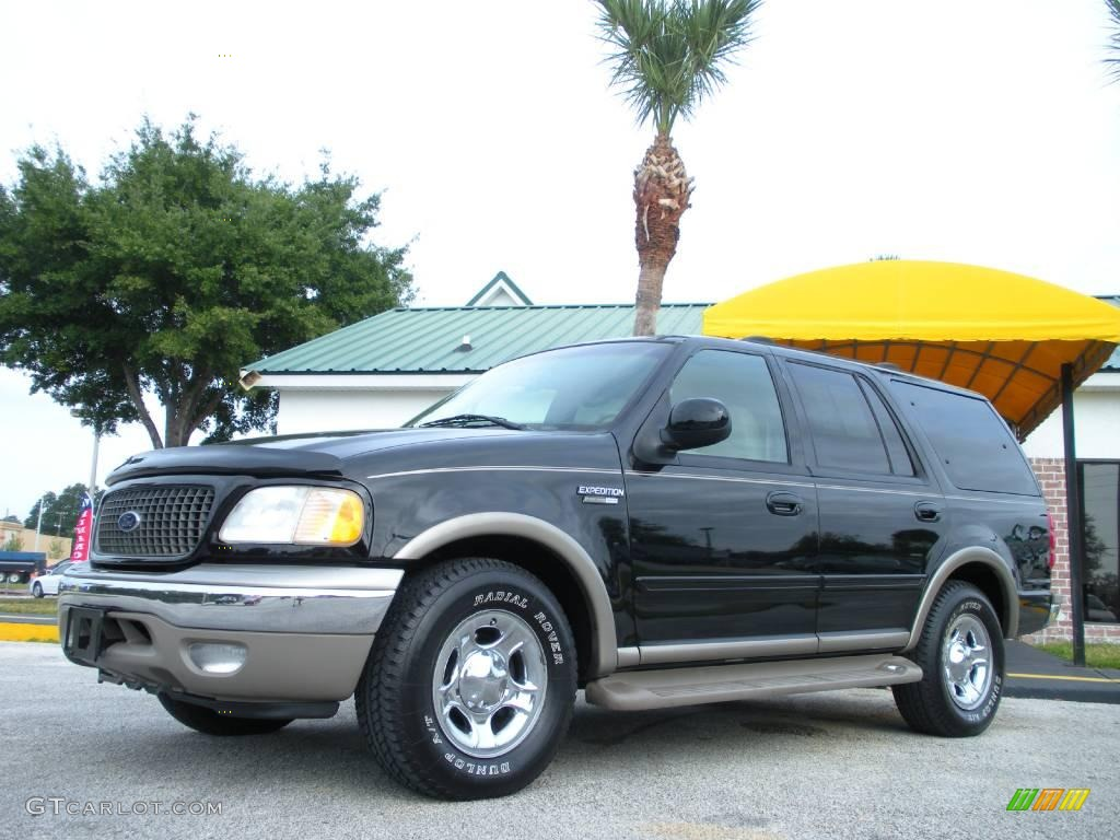 2001 black clearcoat ford expedition eddie bauer 22061674. Black Bedroom Furniture Sets. Home Design Ideas