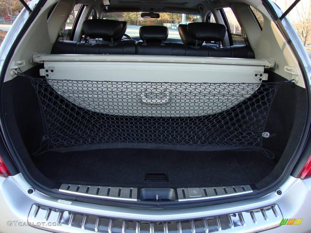 2007 Murano S AWD - Brilliant Silver Metallic / Charcoal photo #32