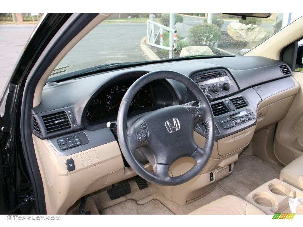 2007 honda odyssey ex l ivory dashboard photo 22132389 for 2007 honda odyssey interior