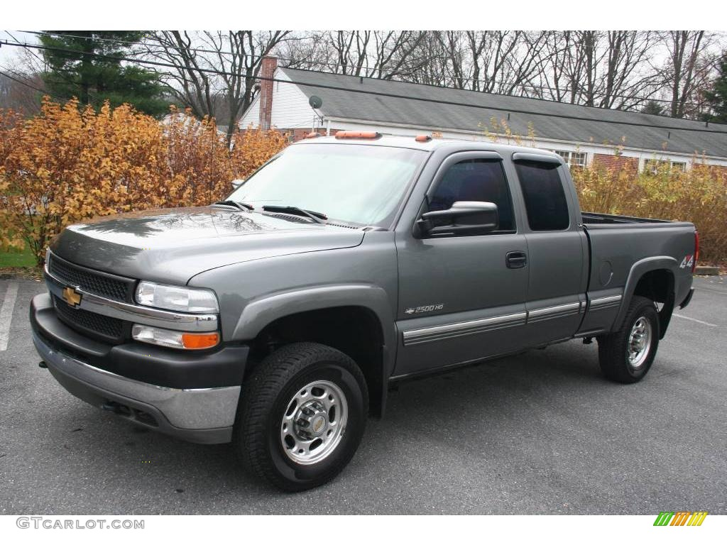 2001 chevrolet silverado 2500hd ls extended cab 4x4 medium charcoal. Cars Review. Best American Auto & Cars Review