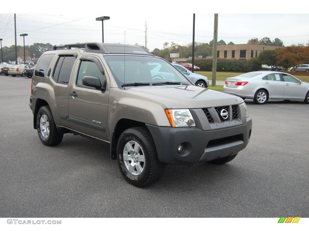2005 granite metallic nissan xterra off road 4x4 22134381. Black Bedroom Furniture Sets. Home Design Ideas