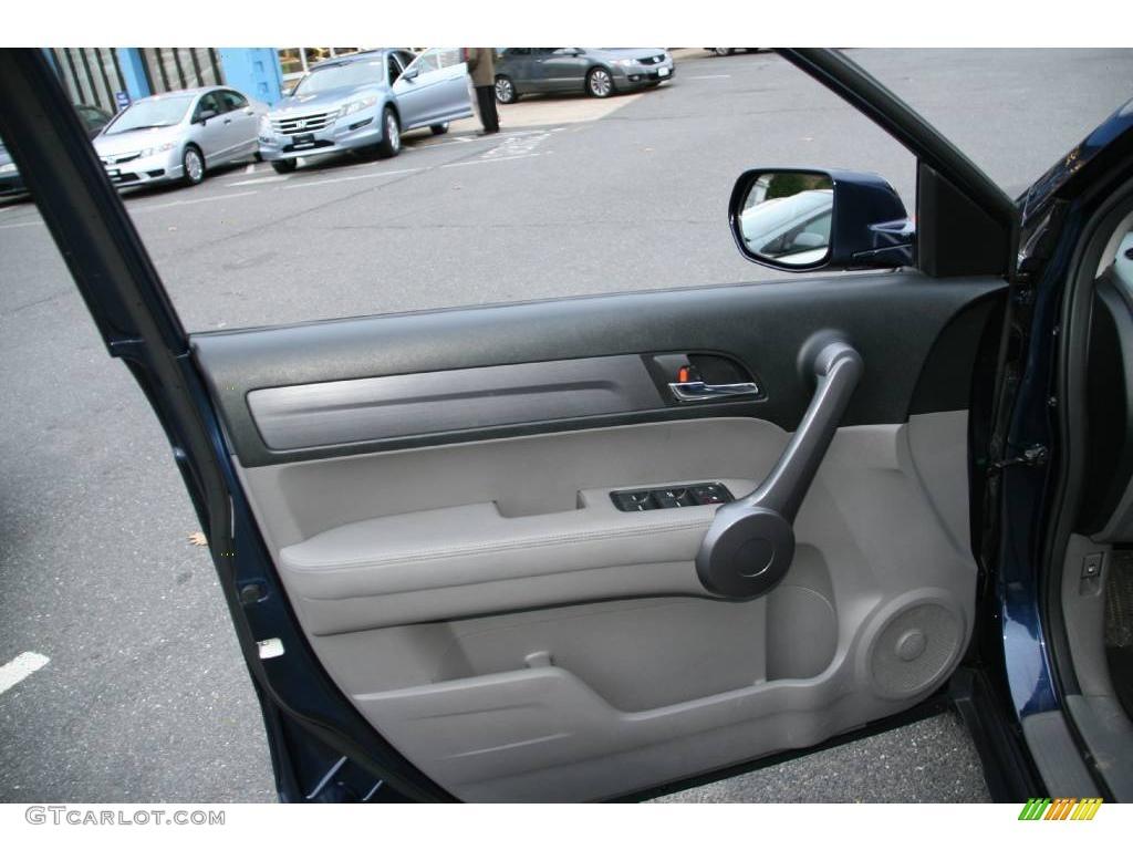 2008 CR-V EX-L 4WD - Royal Blue Pearl / Gray photo #18