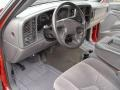 2006 Victory Red Chevrolet Silverado 1500 LT Extended Cab 4x4  photo #10