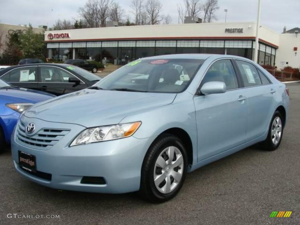 2008 sky blue pearl toyota camry le 22148127 car color galleries. Black Bedroom Furniture Sets. Home Design Ideas