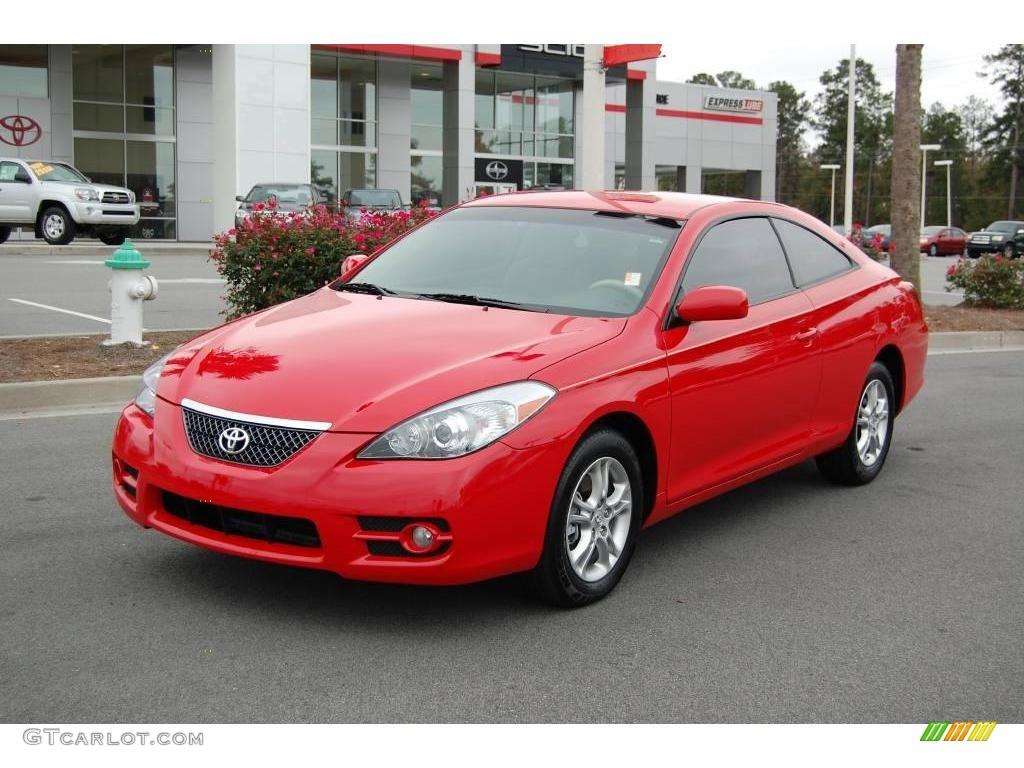 2008 Super Red 5 Toyota Solara Se Coupe 22208672