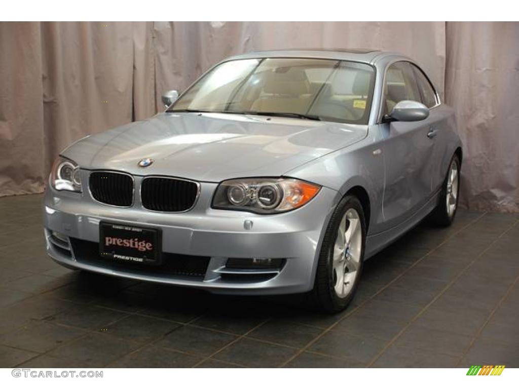 2009 blue water metallic bmw 1 series 128i coupe 22195563. Black Bedroom Furniture Sets. Home Design Ideas
