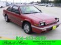 Chateau Red Metallic 1989 Honda Accord LXi Coupe