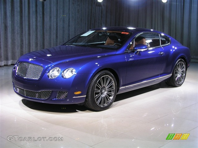 2008 moroccan blue bentley continental gt speed 221940 car color galleries. Black Bedroom Furniture Sets. Home Design Ideas