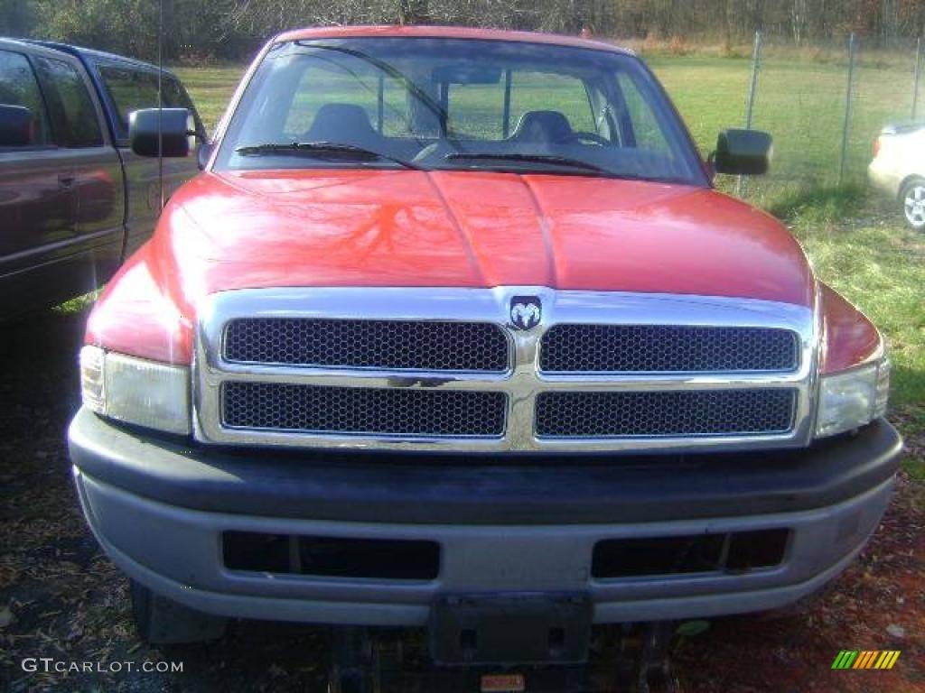 1996 poppy red dodge ram 2500 st regular cab 4x4 22213090. Black Bedroom Furniture Sets. Home Design Ideas