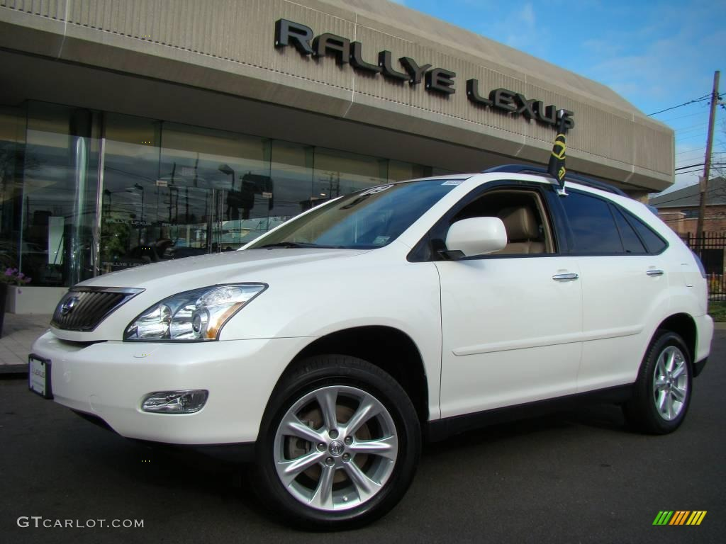 2009 crystal white mica lexus rx 350 awd 22207663 car color galleries. Black Bedroom Furniture Sets. Home Design Ideas