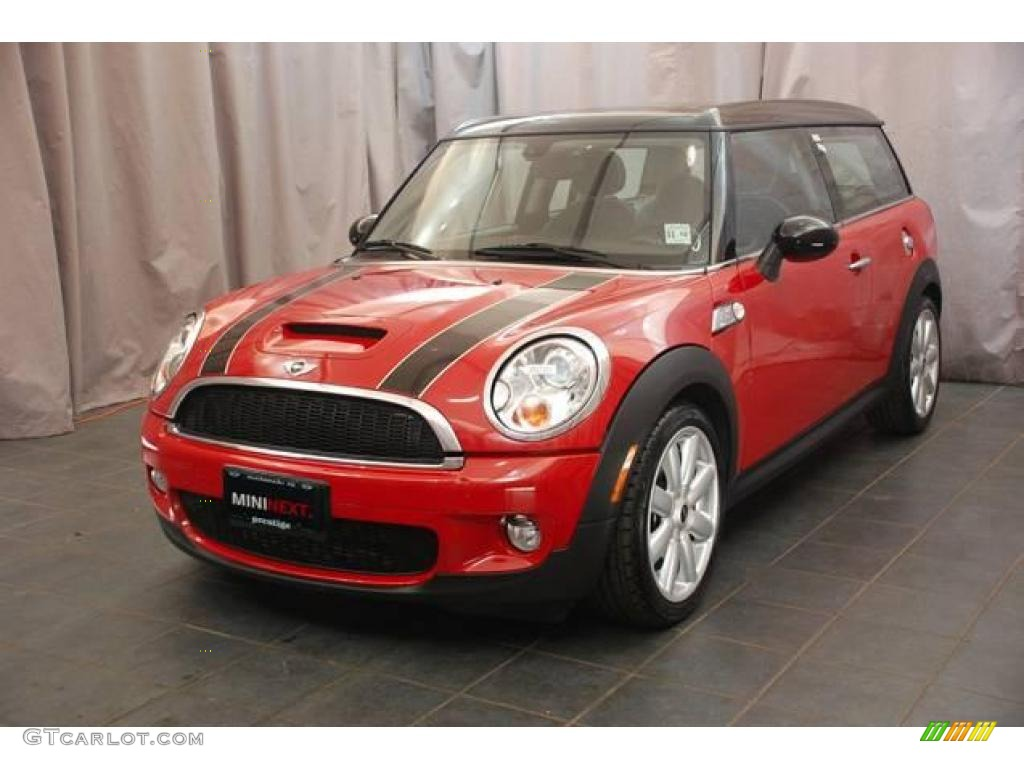 2009 chili red mini cooper s clubman 22196359 gtcarlot. Black Bedroom Furniture Sets. Home Design Ideas
