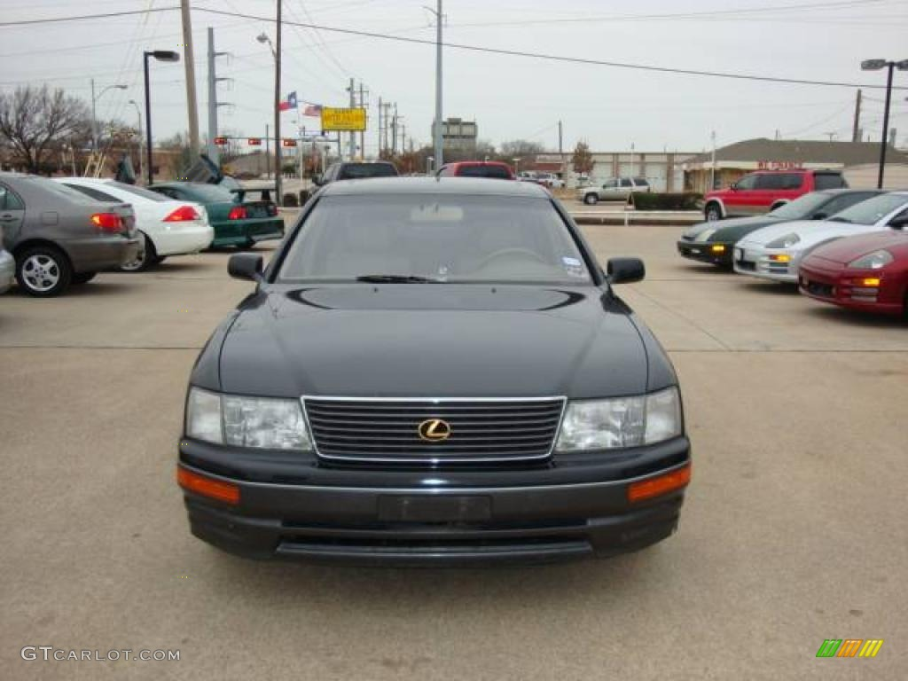 1995 black lexus ls 400 sedan 2231661 car color galleries. Black Bedroom Furniture Sets. Home Design Ideas