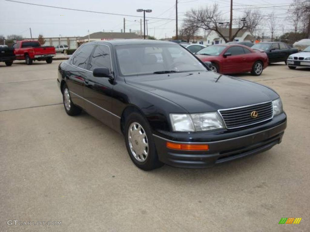 1995 black lexus ls 400 sedan 2231661 photo 2 gtcarlot. Black Bedroom Furniture Sets. Home Design Ideas