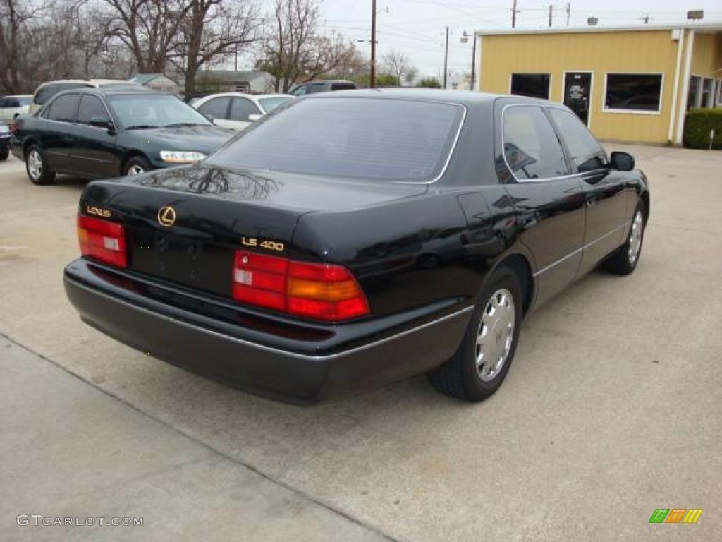 1995 black lexus ls 400 sedan 2231661 photo 3 car color galleries. Black Bedroom Furniture Sets. Home Design Ideas