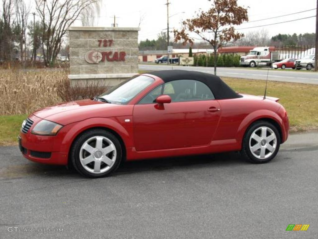 2001 amulet red audi tt 1 8t roadster 22275295 car color galleries. Black Bedroom Furniture Sets. Home Design Ideas