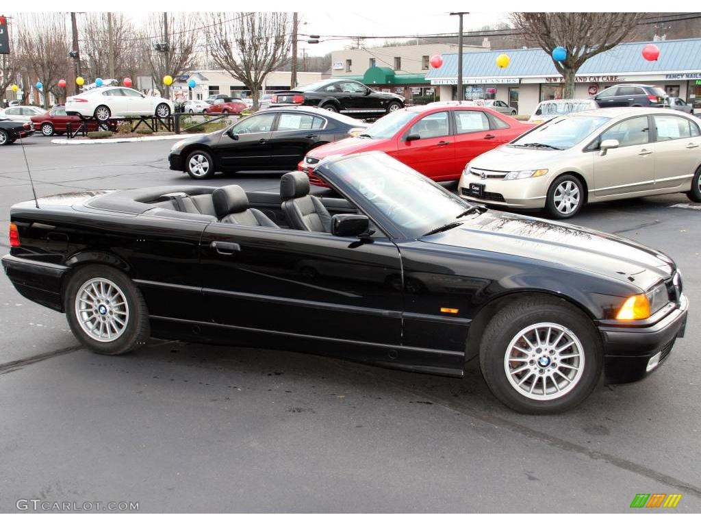 Jet Black BMW Series I Convertible Photo - 1997 bmw 328i convertible