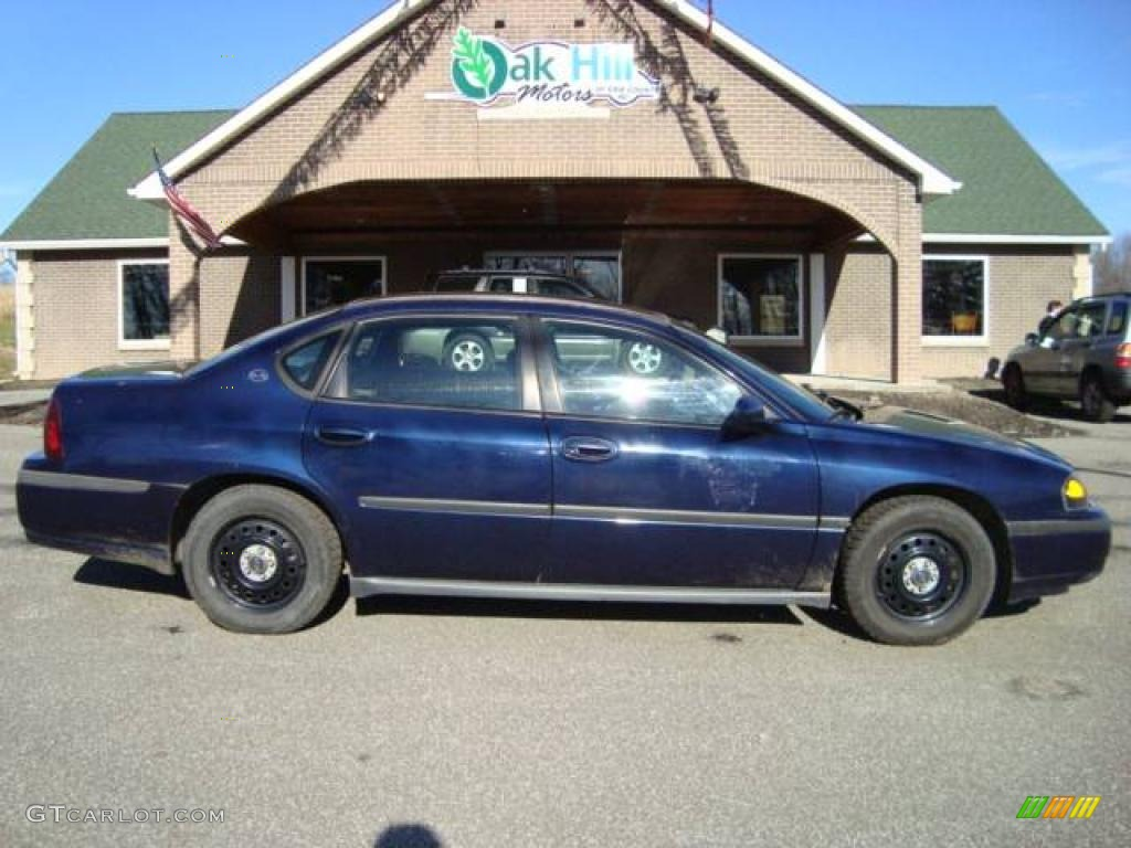 2001 impala police navy blue metallic regal blue photo 1