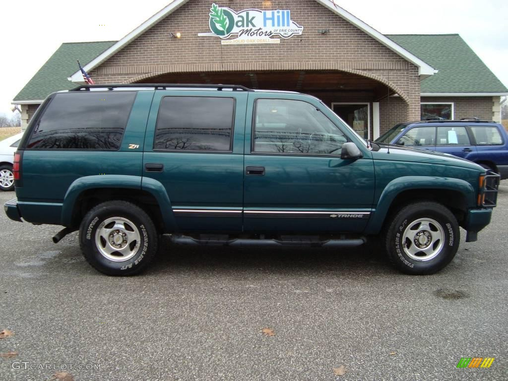 2000 Emerald Green Metallic Chevrolet Tahoe Z71 4x4 22277825