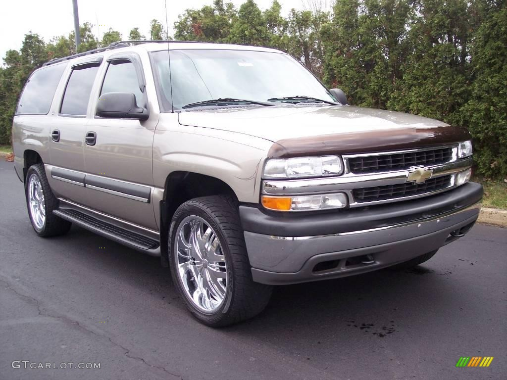 2002 light pewter metallic chevrolet suburban 1500 ls 4x4 22325540 photo 13. Black Bedroom Furniture Sets. Home Design Ideas