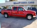 2006 Victory Red Chevrolet Silverado 1500 LT Extended Cab  photo #1
