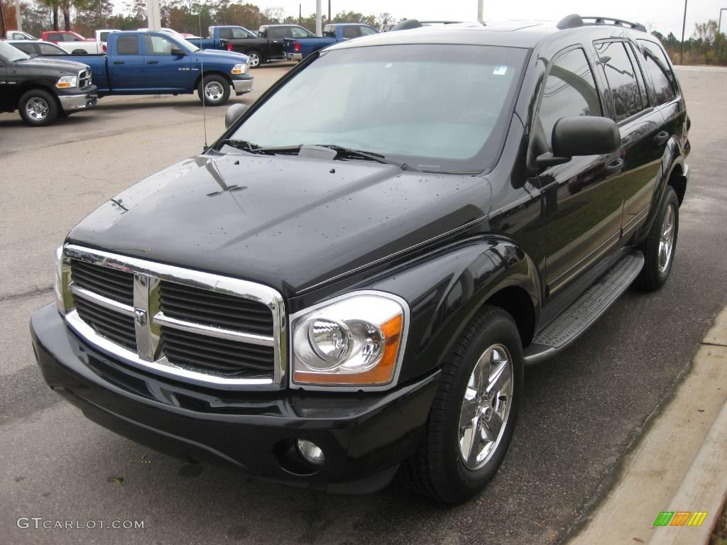 2006 brilliant black dodge durango limited 22273645. Black Bedroom Furniture Sets. Home Design Ideas