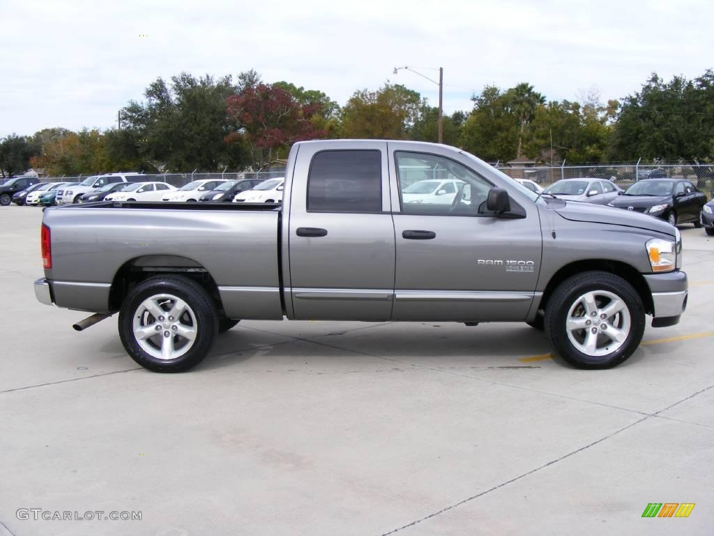 2006 Ram 1500 SLT Quad Cab - Mineral Gray Metallic / Medium Slate Gray photo #2