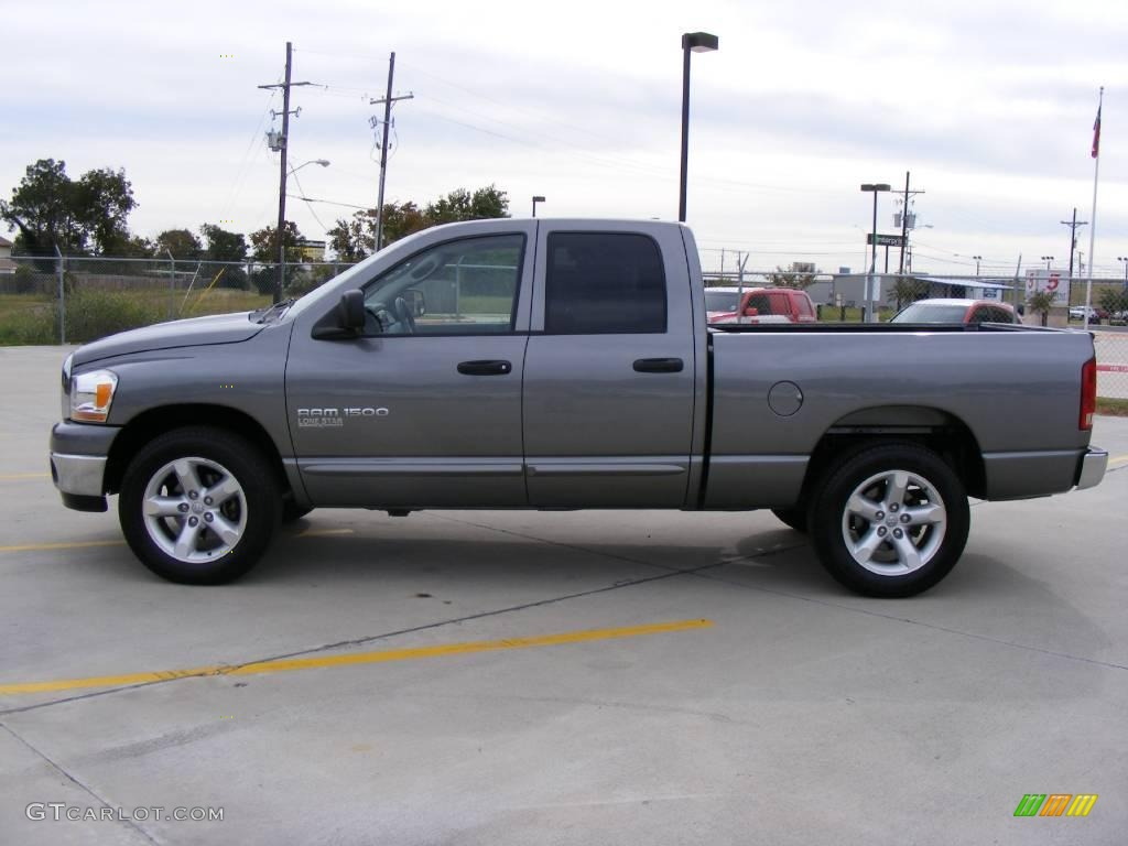 2006 Ram 1500 SLT Quad Cab - Mineral Gray Metallic / Medium Slate Gray photo #6