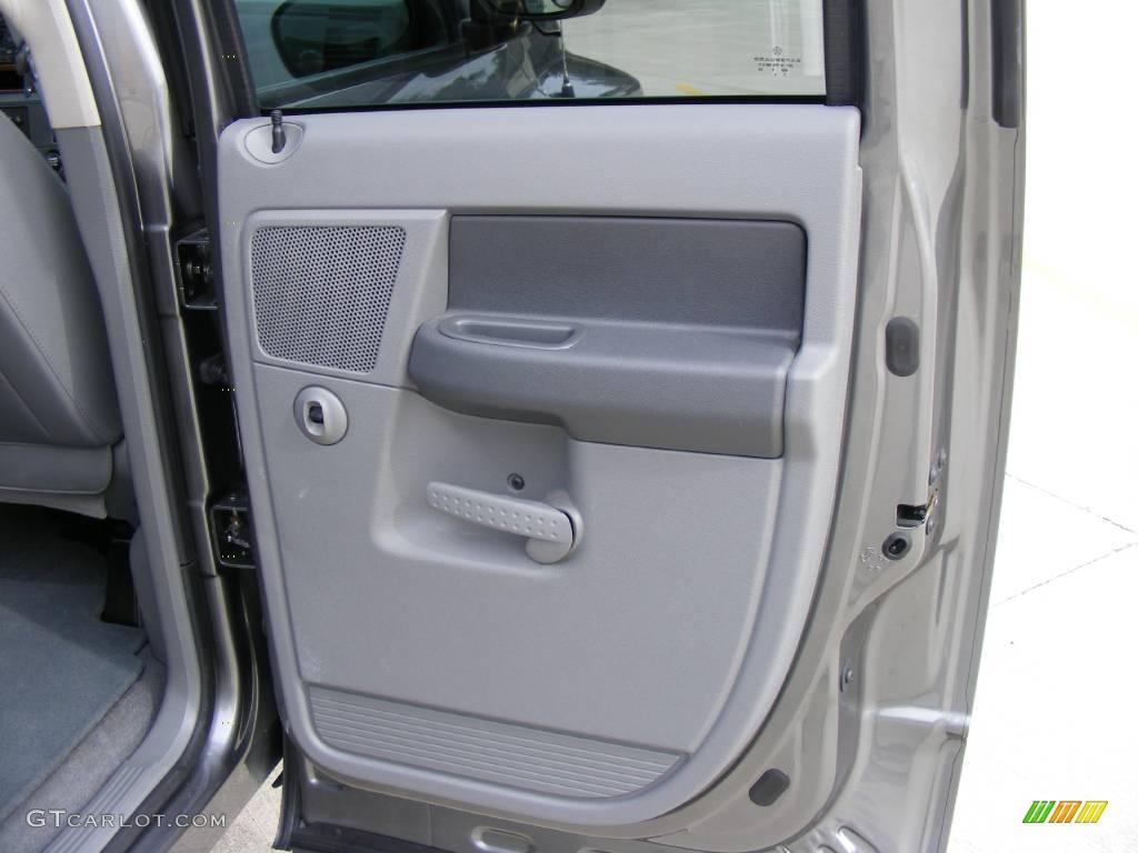 2006 Ram 1500 SLT Quad Cab - Mineral Gray Metallic / Medium Slate Gray photo #30
