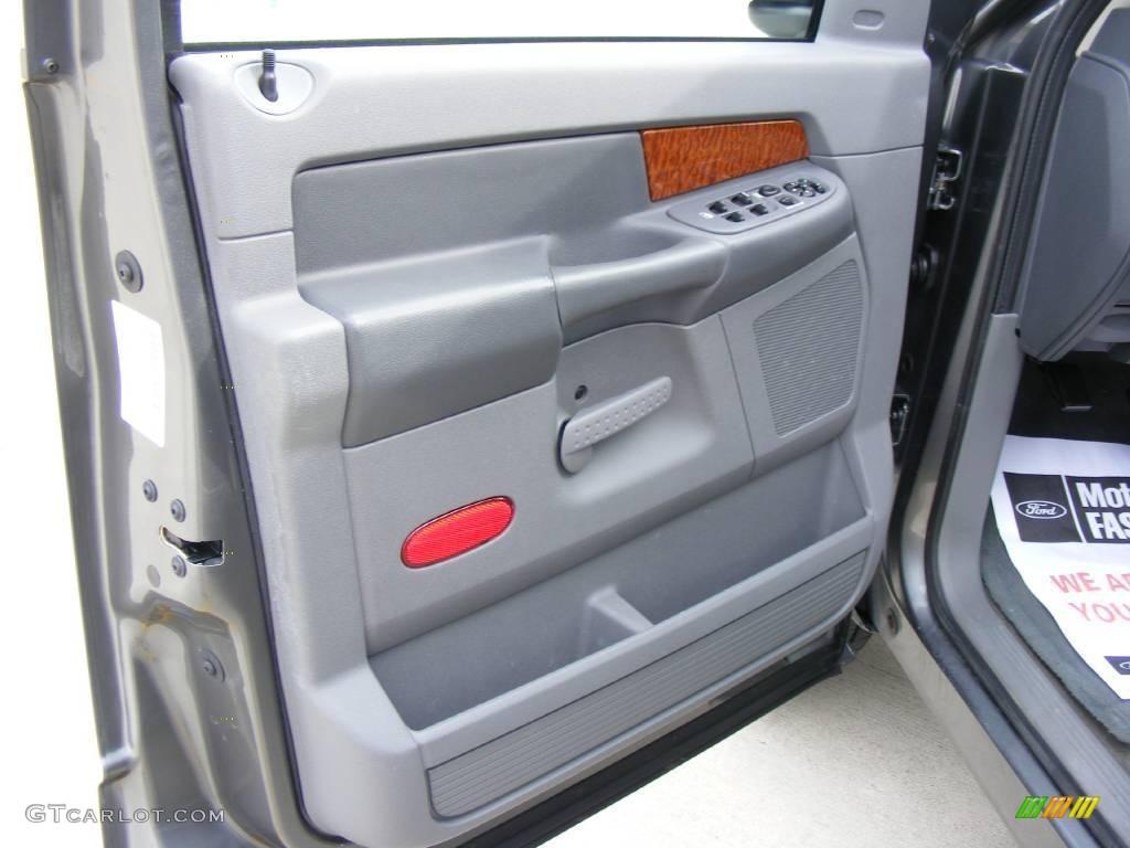 2006 Ram 1500 SLT Quad Cab - Mineral Gray Metallic / Medium Slate Gray photo #34