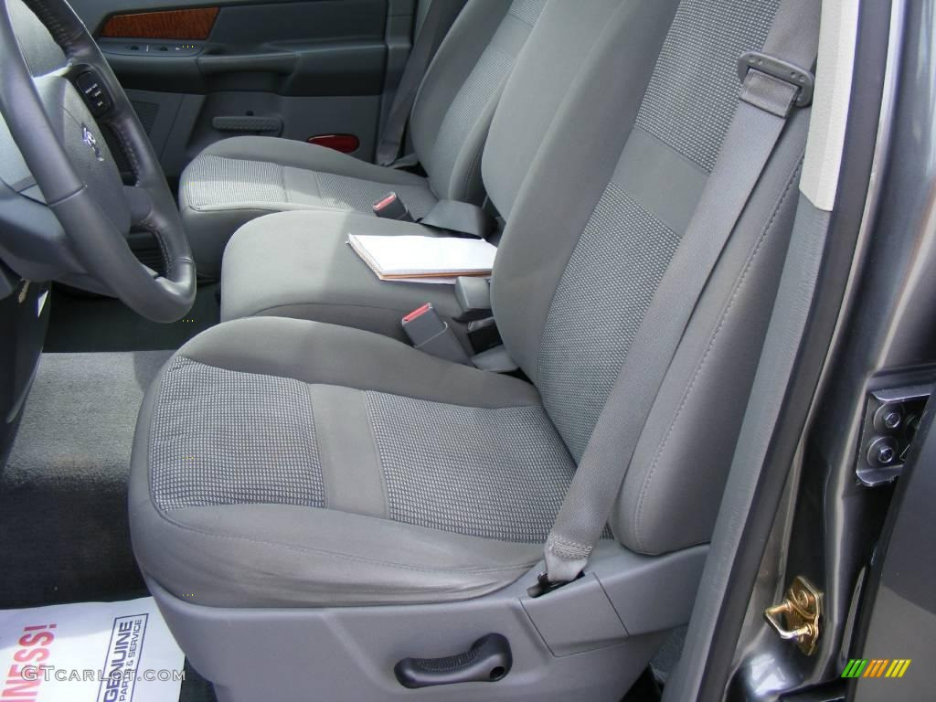 2006 Ram 1500 SLT Quad Cab - Mineral Gray Metallic / Medium Slate Gray photo #36