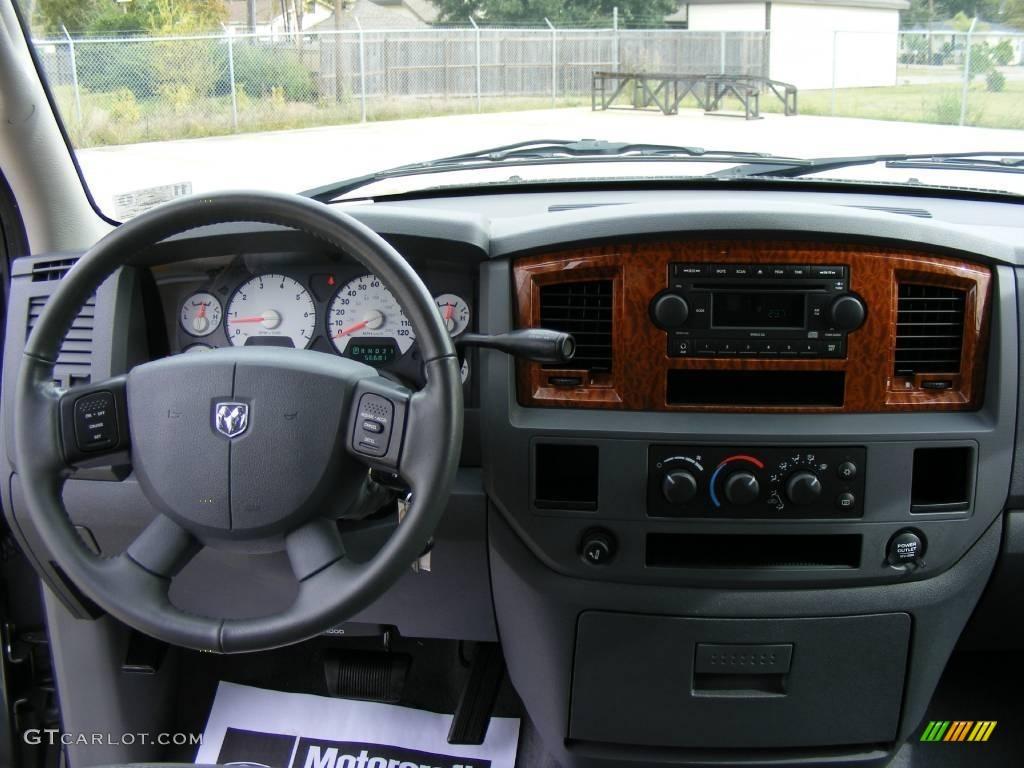 2006 Ram 1500 SLT Quad Cab - Mineral Gray Metallic / Medium Slate Gray photo #39