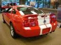 2007 Torch Red Ford Mustang Shelby GT500 Coupe  photo #2