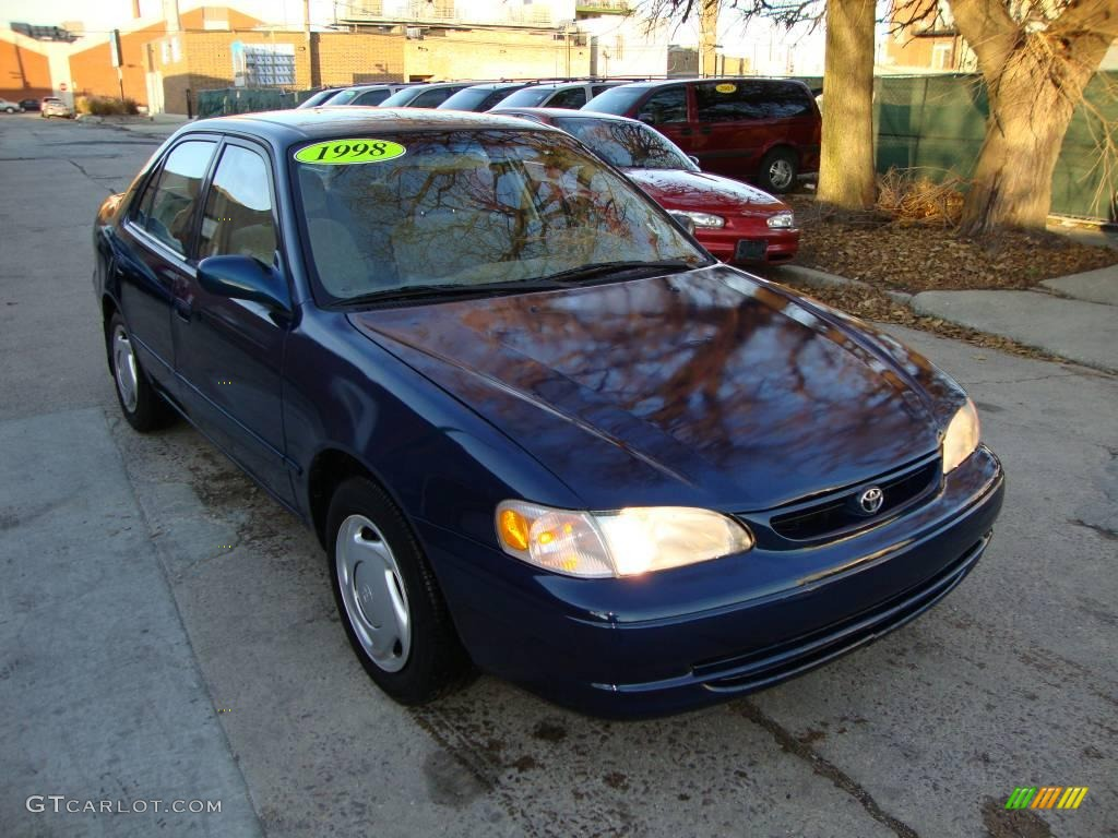 1998 dark blue pearl toyota corolla le 22382989 photo 2 car color galleries. Black Bedroom Furniture Sets. Home Design Ideas
