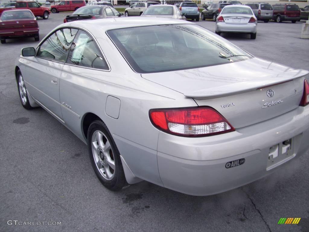 1999 Silver Stream Opalescent Toyota Solara SLE V6 Coupe #22412828 ...