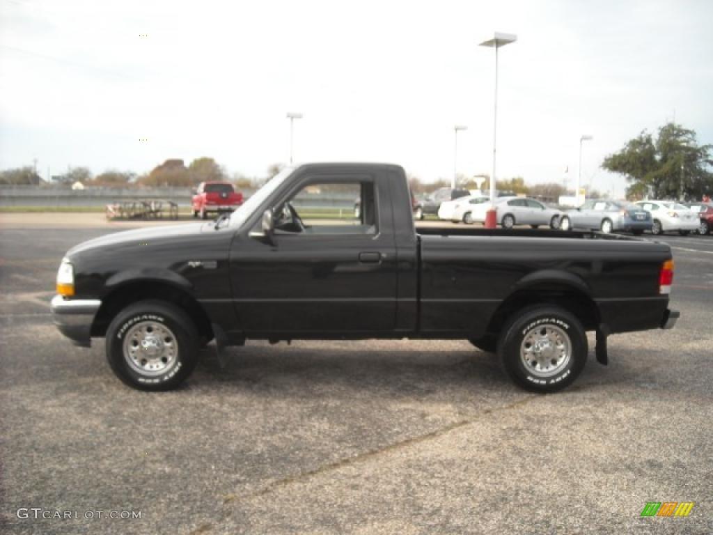 1998 black ford ranger xlt regular cab 22432799 car color galleries. Black Bedroom Furniture Sets. Home Design Ideas