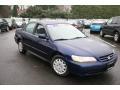 2002 Eternal Blue Pearl Honda Accord LX Sedan  photo #3