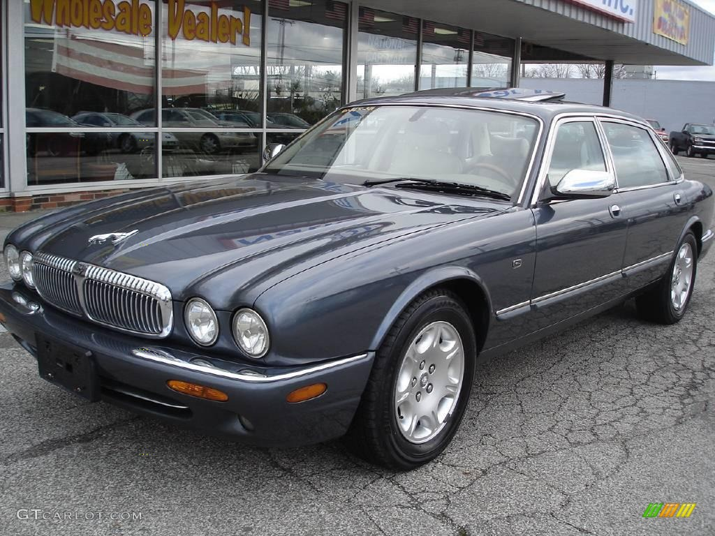 Aegean Blue Metallic Jaguar XJ