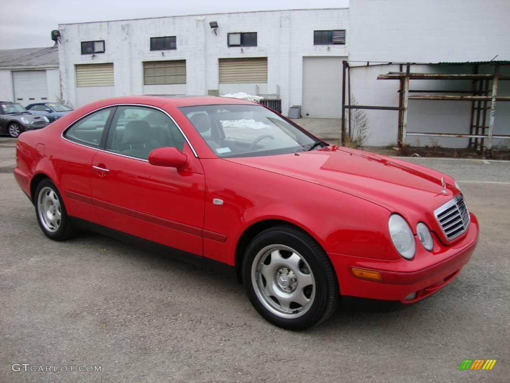 1999 magma red mercedes benz clk 320 coupe 22310942 photo for 1999 mercedes benz clk 430