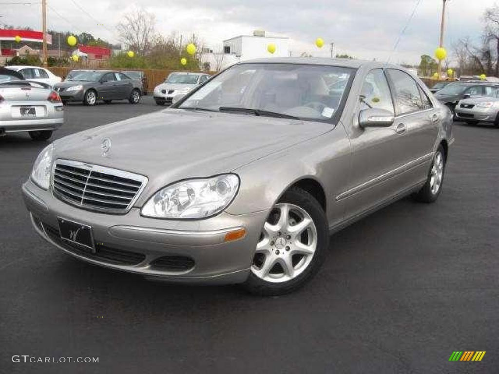 2003 pewter silver metallic mercedes benz s 430 sedan for Mercedes benz s 430
