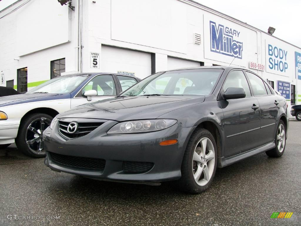 mazda 6 2005 gray. 2005 mazda6 i sport hatchback steel gray metallic photo 1 mazda 6
