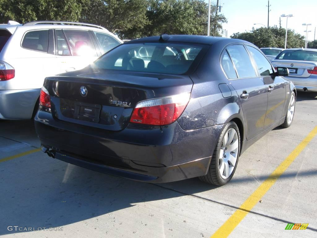 2007 monaco blue metallic bmw 5 series 530i sedan #22327650 photo