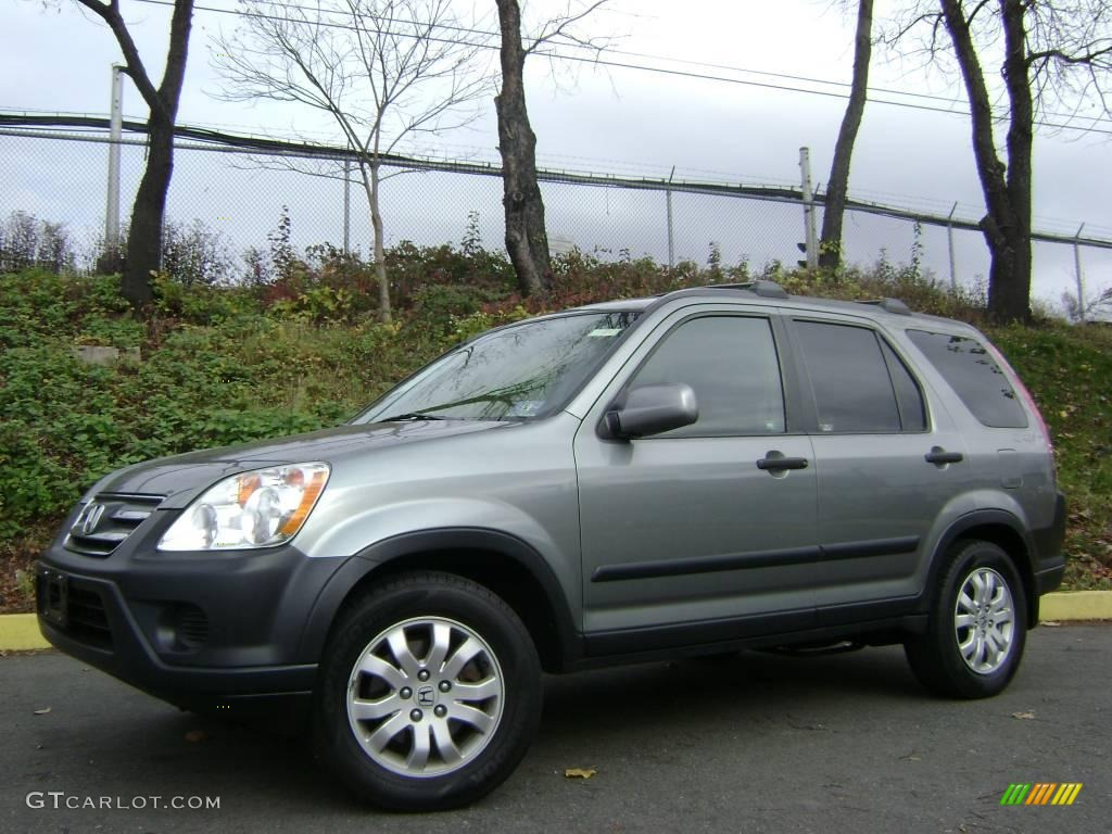 2005 Silver Moss Metallic Honda Cr V Ex 4wd 22326221