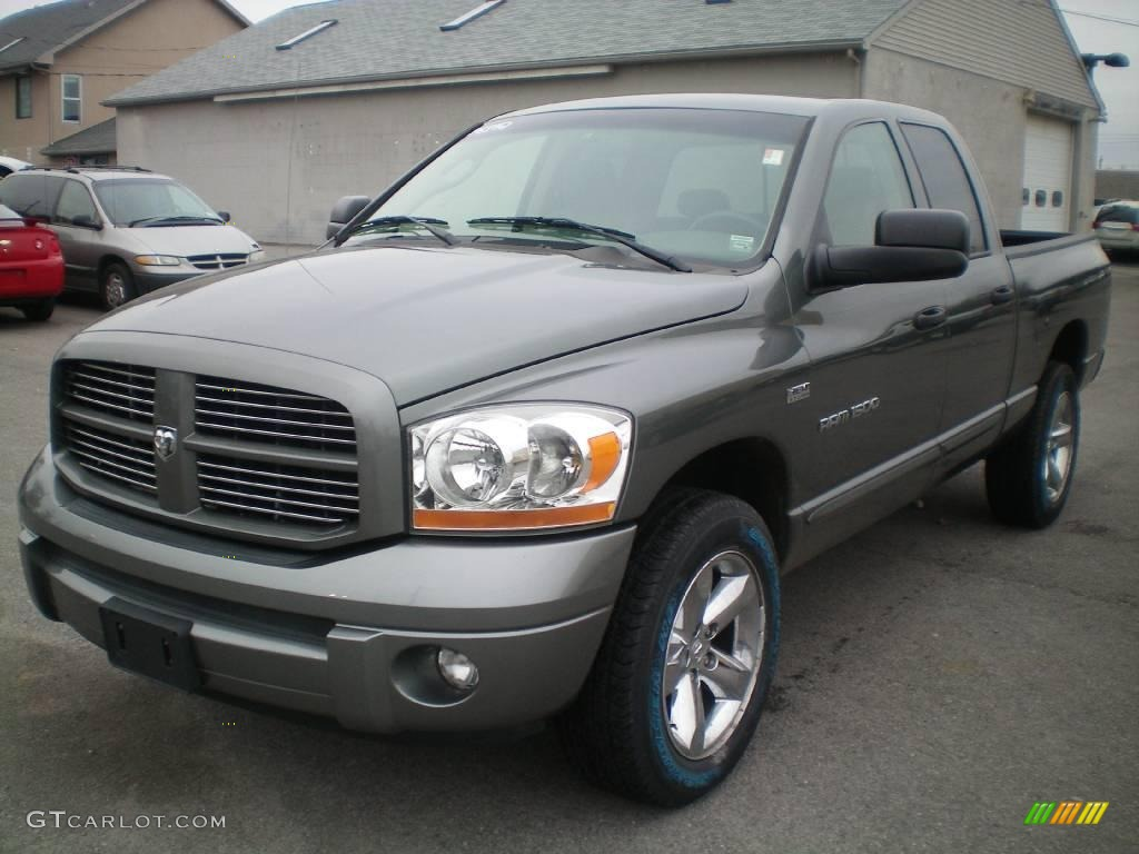 2006 mineral gray metallic dodge ram 1500 sport quad cab 4x4 22341052 car. Black Bedroom Furniture Sets. Home Design Ideas