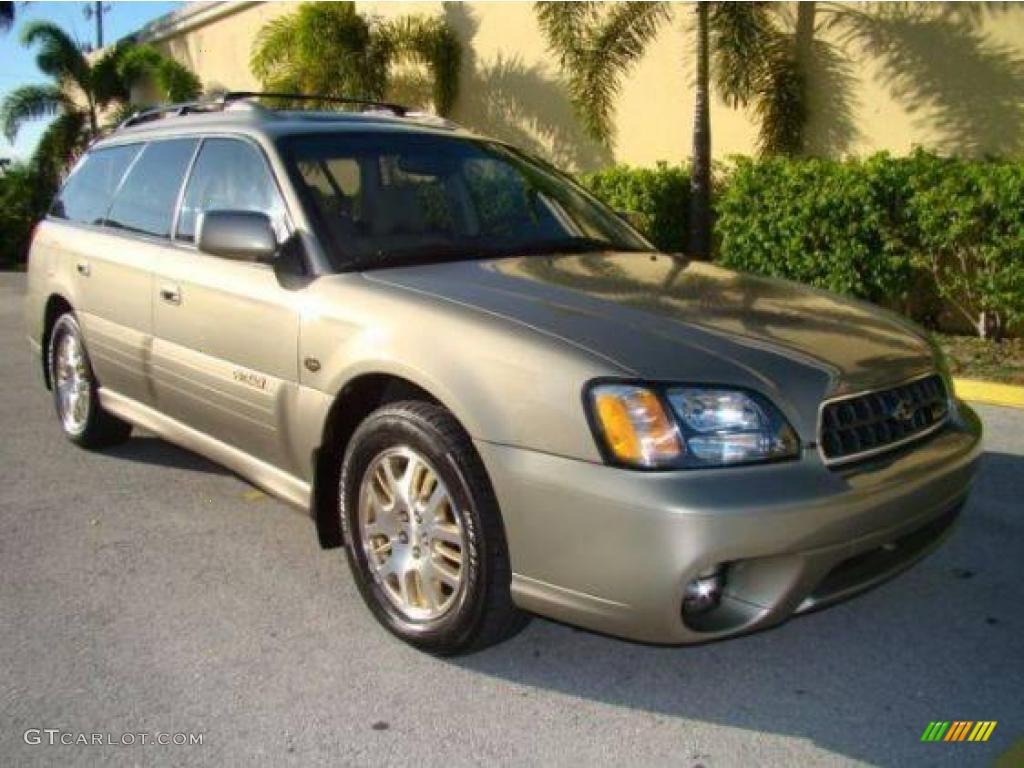 2003 Titanium Beige Pearl Subaru Outback L.L. Bean Edition ...