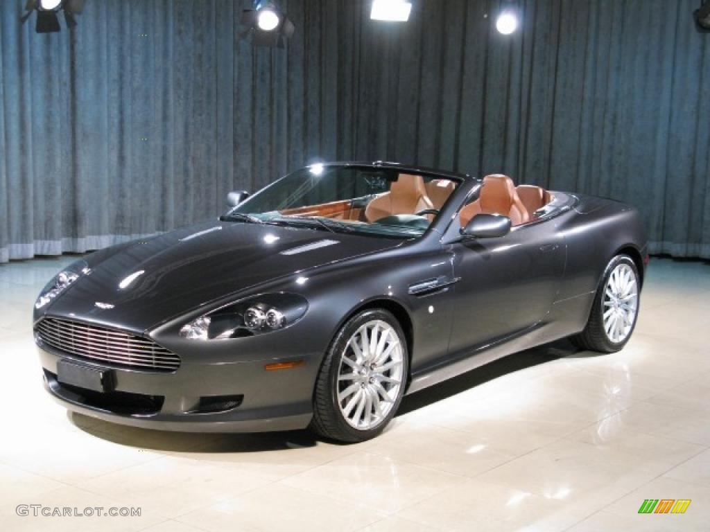 2005 meteorite silver aston martin db9 volante 22565668. Black Bedroom Furniture Sets. Home Design Ideas