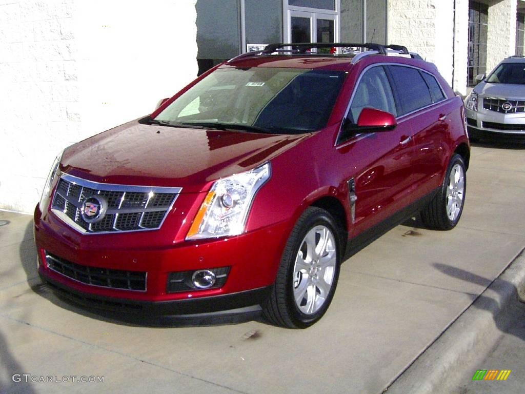 2010 Crystal Red Tintcoat Cadillac Srx V6 22595643 Car Color Galleries