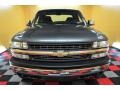 2000 Charcoal Gray Metallic Chevrolet Silverado 1500 LS Extended Cab 4x4  photo #2